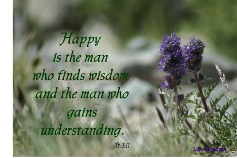 Happy is the man