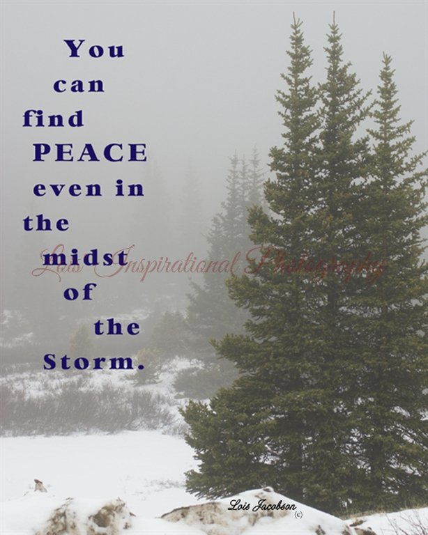 You can find Peace